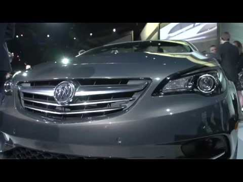2016 Buick Cascada Reveal At 2015 NAIAS | AutoMotoTV