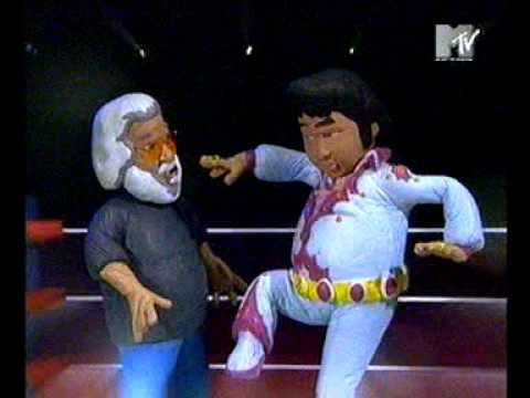 celebrity death match - elvis presley vs jerry garcia ...