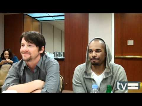 Zach Knighton and Damon Wayans Jr. (Happy Endings Season 2) Interview - March 2012
