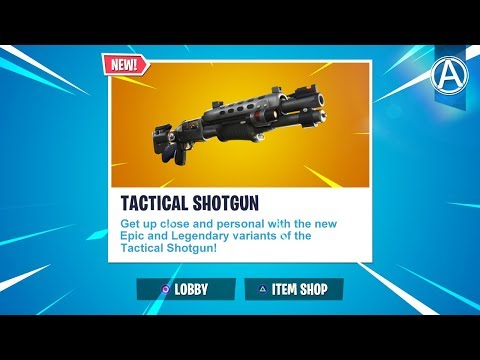 NEW LEGENDARY TACTICAL SHOTGUN Gameplay Soon! // Use Code: byArteer (Fortnite Battle Royale LIVE)