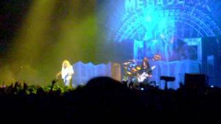 Megadeth  argentina 2010 Rust in peace  (ale)