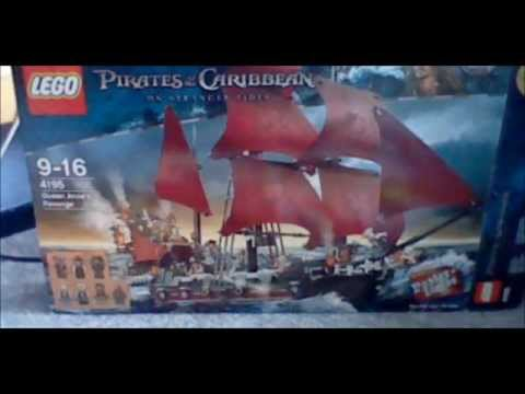 lego pirates of the carribean queen anne's revenge review.wmv