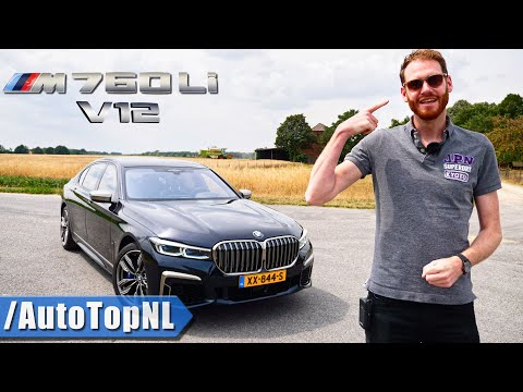 2020 BMW 7 Series M760Li V12 xDrive REVIEW on AUTOBAHN & ROAD by AutoTopNL