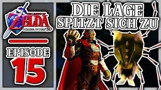 """""""DIE LAGE SPITZT SICH ZU! 😯""""   The Legend of Zelda: Ocarina of Time 3D #15"""