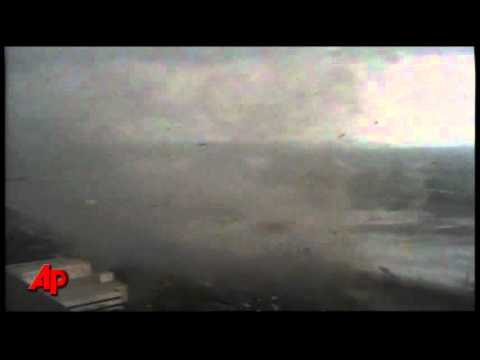 Raw Video: Tornado Strikes Springfield, Mass.