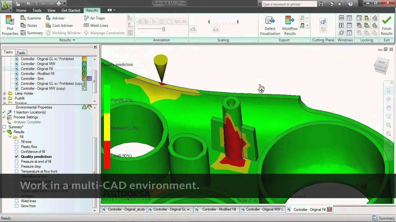Overview Autodesk Moldflow Youtube