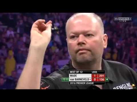 Premiere League darts week 10 Van Barneveld vs Wade