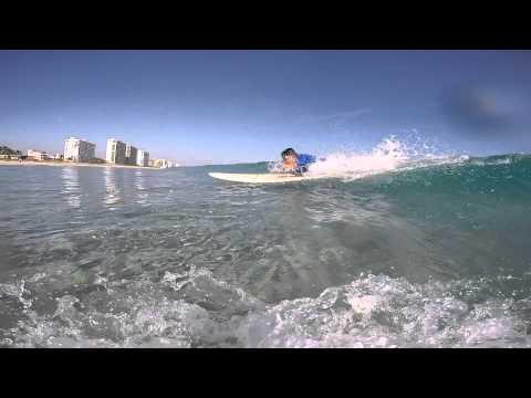 Rob and Sam Surf Trip