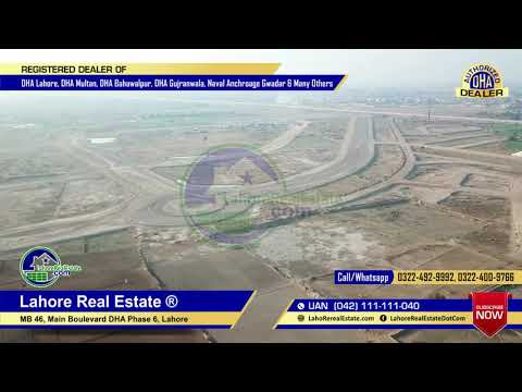 LDA City Lahore Latest Drone Video by Lahore Real Estate Dec 2018 thumbnail