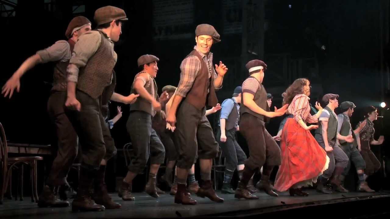 Newsies Broadway Tour
