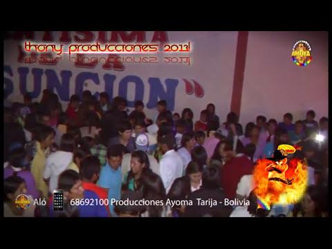 Edgar Coari SAGRADO - Licor Amargo EN VIVO Tarija BOlivia Producciones Thony 2014
