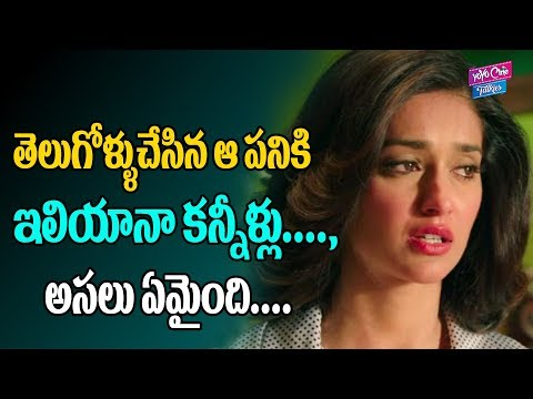 Ileana D'cruz Emotional With Hospitality | Tollywood News | YOYO Cine Talkies