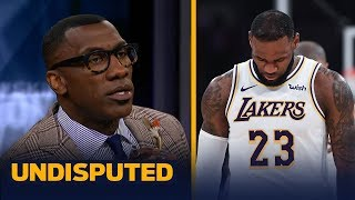 Shannon Sharpe thinks that LeBron is to blame for the Lakers
