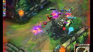 League Of Legends Vlad Urf with that ULT teemo skin