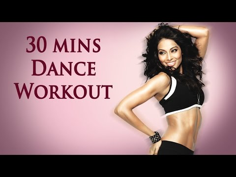30 Mins Aerobic Dance Workout - Bipasha Basu Break free Full Routine - Full Body Workout