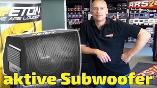 Aktivwoofer -REVIEW-  ETON MOVE 10-300 A /MOVE 12-400A