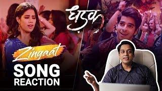 Zingaat Hindi Song Reaction Dhadak Ishaan Janhvi Ajay Atul Amitabh Bhattacharya