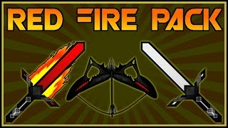 ★ AMAZING Red Fire PVP TEXTURE PACK ★