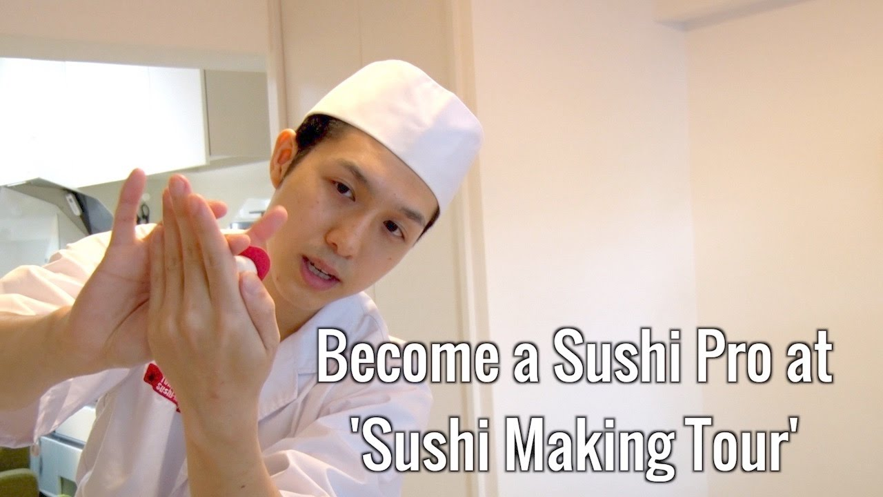 "Become a Sushi Pro at ""Sushi Making Tour"""