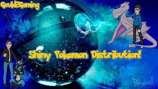 Shiny Pokemon Giveaway!!!! - Reverse GTS (Shiny Pokemon Distribution!)
