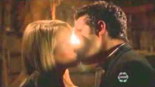 The Secret Circle-Adam and Cassie Kiss