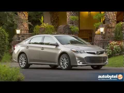 2013 Toyota Avalon XLE Test Drive & Full-Size Sedan Car Video Review