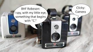 Introduction to the Kodak Brownie Hawkeye Flash Toy Twin Lens Reflex Box Camera