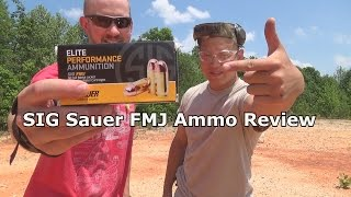 SIG Sauer FMJ 9mm Ammo Review: Glock, S&W, SIG, Beretta, and Ruger Pistols