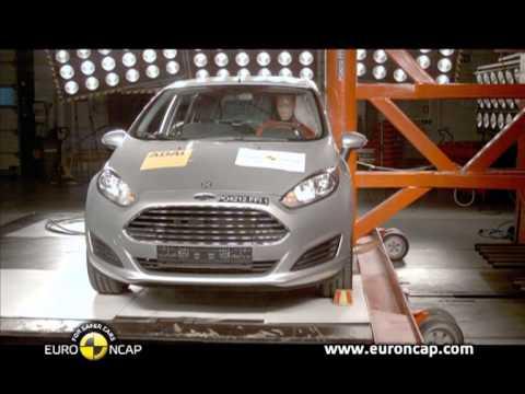 Euro NCAP | Ford Fiesta | 2012 | Краш-тест
