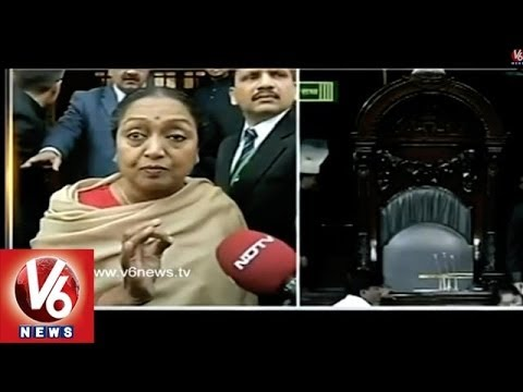 Speaker Meira Kumar Rushed To Home As She Felt The Effect Of Pepper Spray