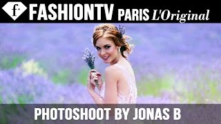 Shooting Katherline Lyndia for Wedding Magazine by Jonas B | FashionTV