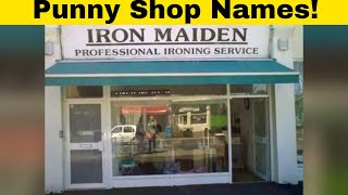 Shop Name Puns That Are Too Funny To Ignore