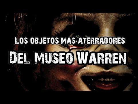 Top: Los 6 objetos más aterradores del Museo Paranormal Warren