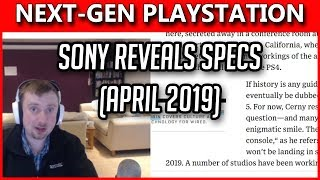 Mark Cerny Reveals PS5 Details - NOT Coming 2019 - Launching With FAST SSD!
