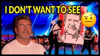 """Top 10 """"WORST AUDITIONS & Acts Go WRONG"""" on Britain"""
