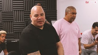 Fat Joe Hangs out at DJcity