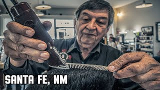 💈 Haircut at Santa Fe New Mexico's Oldest & Only Traditional Barber Shop | The Center Barbershop