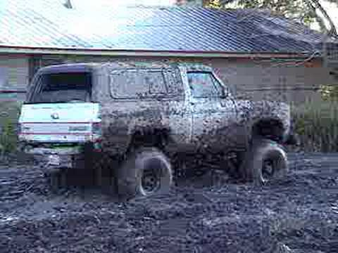Mud Riding Video