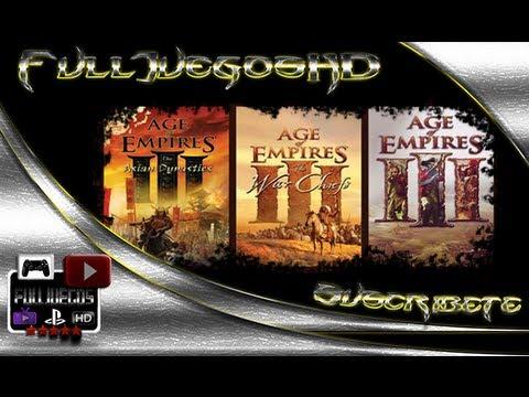 Age of Empires III Espanol + Exp. WarChief + Exp. The Asian Dynastie - Descarga Gratis