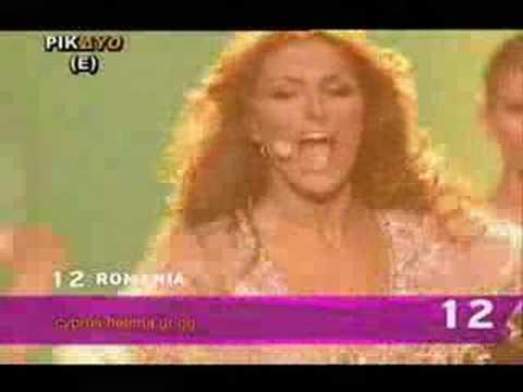 Helena Paparizou - Mambo  (Live Eurovision 2006)