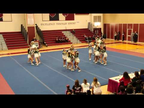 Damascus High School Cheerleading Competition -- January 2014