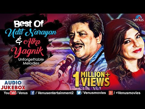 Best Of Udit Narayan & Alka Yagnik | Evergreen Unforgettable Melodies | JUKEBOX |90's Romantic Songs