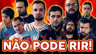 NÃO PODE RIR! - com Davy Jones, Cauê Moura, Tavião, Pirula e Patriota