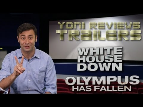 White House Down and Olympus Has Fallen Trailer Review: Yoni at the Trailers