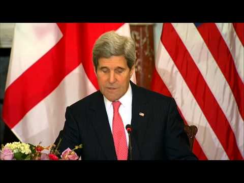 Secretary Kerry Delivers Remarks on the U.S.-Georgia Strategic Partnership