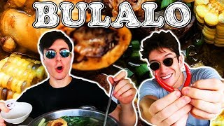 Foreigners Try BULALO in Tagaytay! - Philippines Travel Vlog