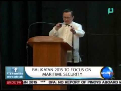 NewsLife: Balikatan 2015 to focus on maritime security    Apr. 20, 2015
