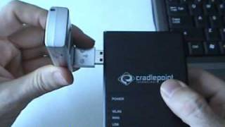 Cradlepoint CTR350 & Verizon UTStarcom UM175 Video Review