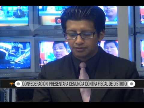 21/08/2014 - 14:30 CONFEDERACION  PRESENTARA DENUNCIA CONTRA FISCAL DE DISTRITO