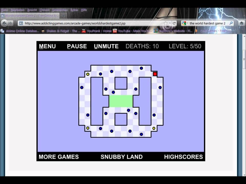worlds hardest game 2 level 50
